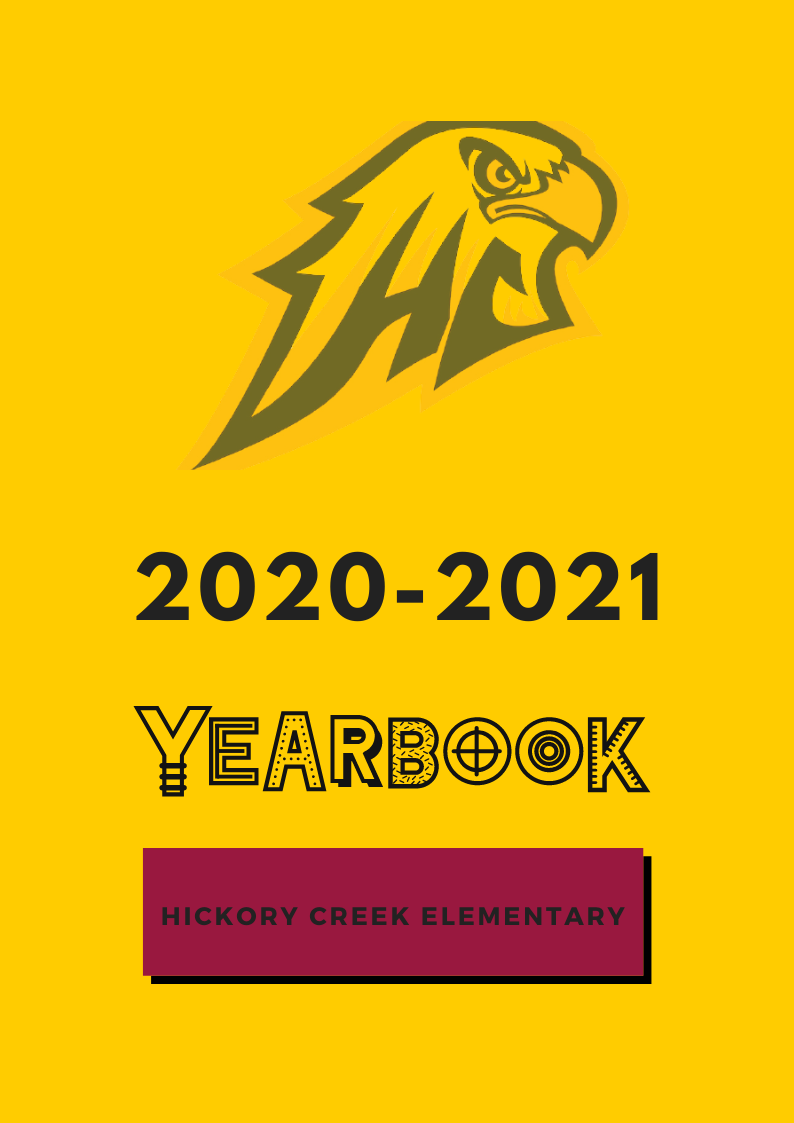 yearbook front cover image